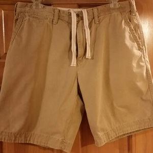 POLO BY RALPH LAUREN - Tan Shorts w/draw string